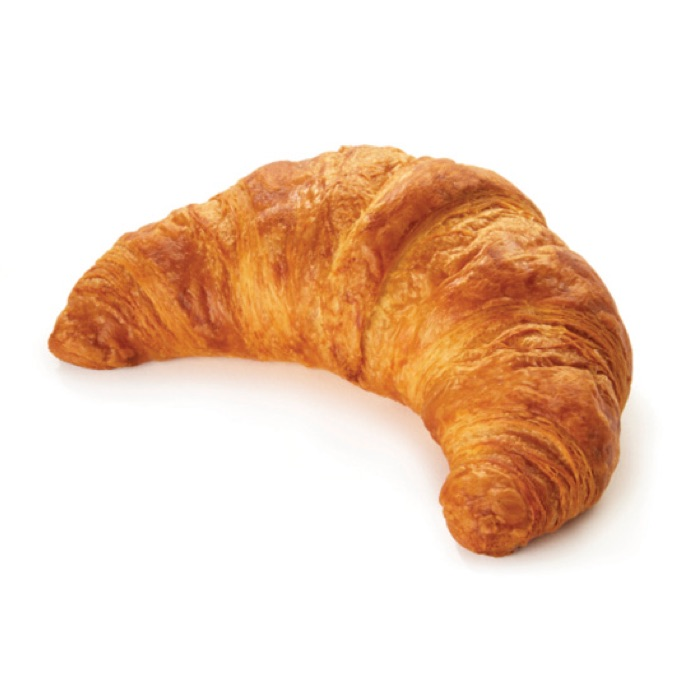 Croissants pre-proved 80g Pre-Proved Curved Croissant