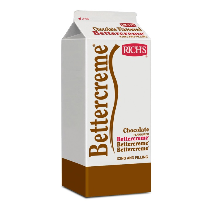 Icings RTW Bettercreme Chocolate Flavoured Betercreme Packshot