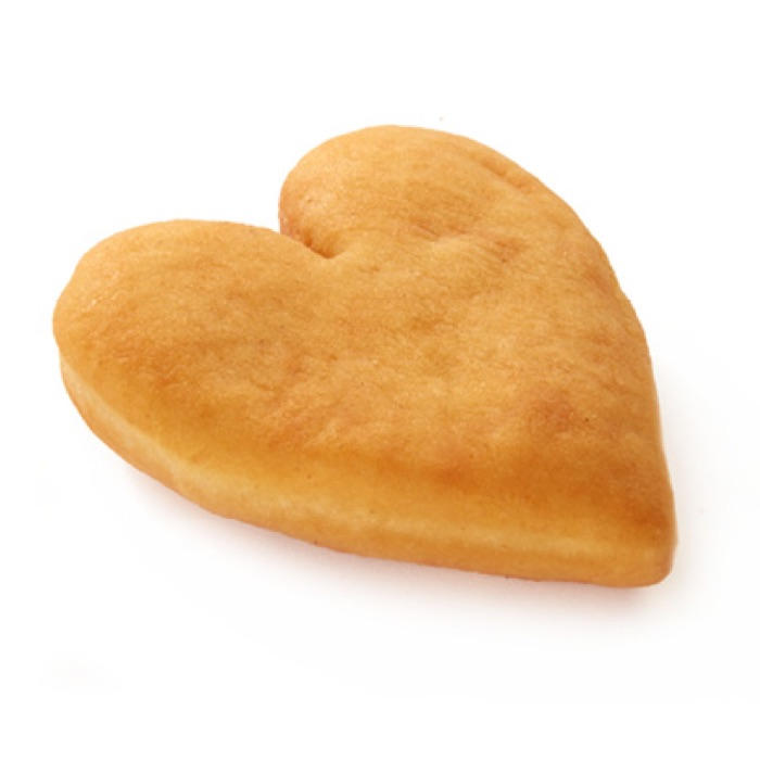 Donuts Homestyle Heart Shaped Donut