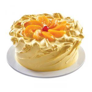 Custard and Peaches