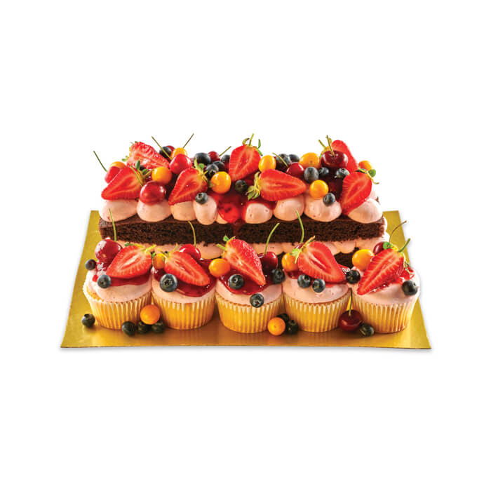 Premium Berry Log and Cupcake Combination Valentines Program 700x700